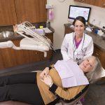 Dr. Loper's Office - Dr. Dale and happy patient.